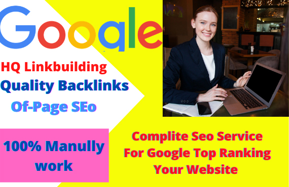 I will do SEO to rank your website on the first page of google