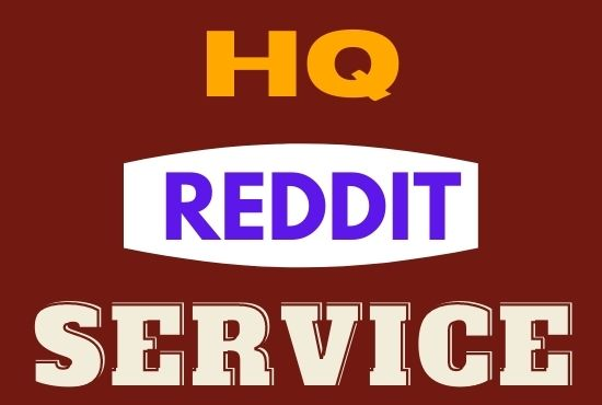I Will Manually Write & Publish 10 Guest Post on Reddit with Backlink