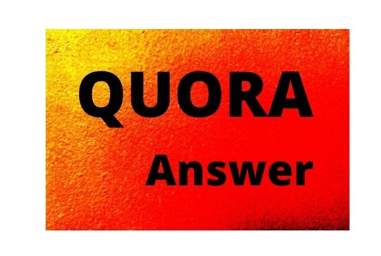 I will offer you 10 unique Quora answer with backlink