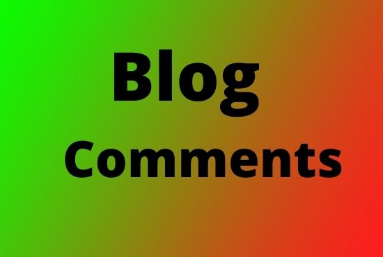 I Will Manually Create 50 Dofollow Blog Comments Backlinks
