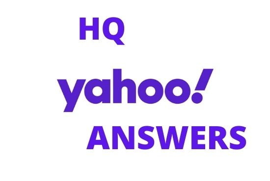 I will Boost your website 10 High Quality Yahoo answers with your KEYWORDS & URL
