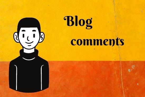 Create Manually 50 dofollow blog comment Backlinks For google ranking.