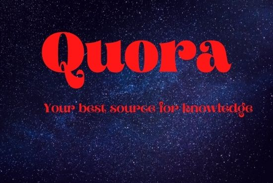 offer 3 High Quality Quora Answers with your keyword and URL