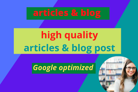 I will write 50 quality blog posts,  SEO articles,  and website content