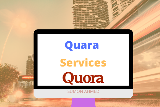 I will work 3 Quora answers to bring it to the top rank on the marketing web site