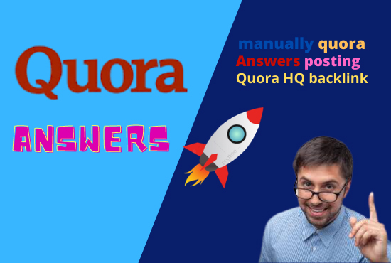 Promote Your web site 5 Excellent Quora Replies for traffic.