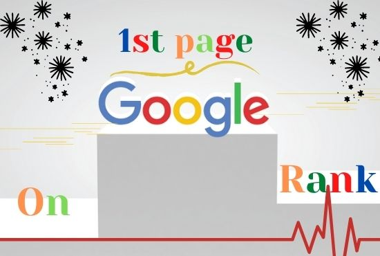 I will do Rank Your Website on Google 1st Page