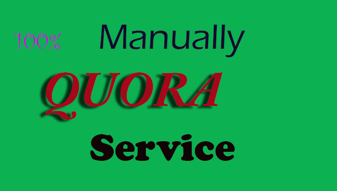 i will provide best 5 QUORA answers and promote your website