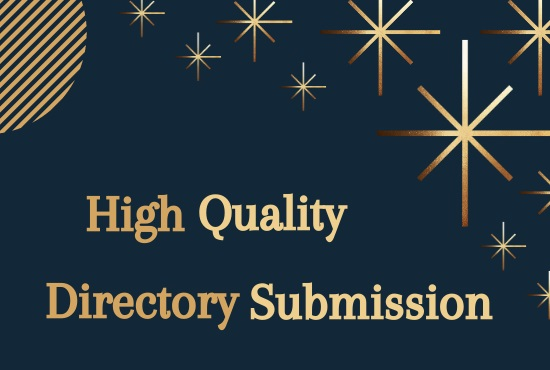 I will Do 100 Niche Relevant Directory Submission Backlinks