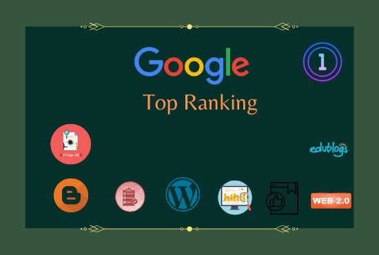 I will promote your Website on google first page ranking guaranteed