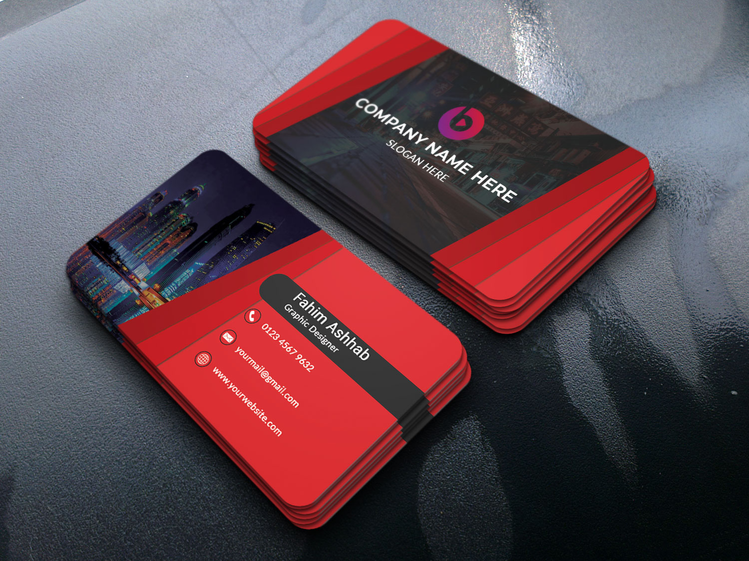 I will do double sided modern business card design in 24 hour