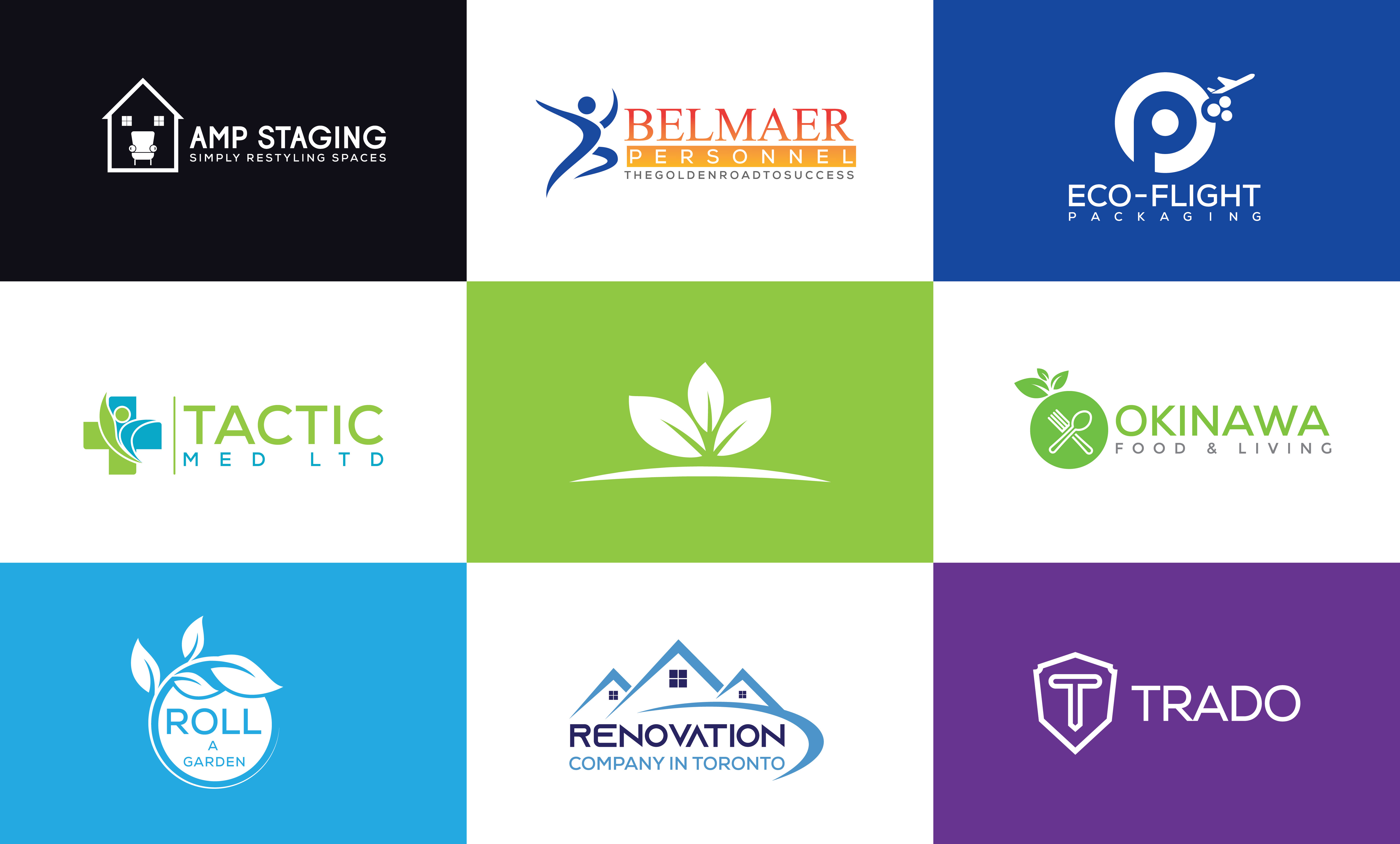 I will create luxury minimalist logo design for your new business
