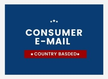 1k Fresh and Dynamic USA based consumer email