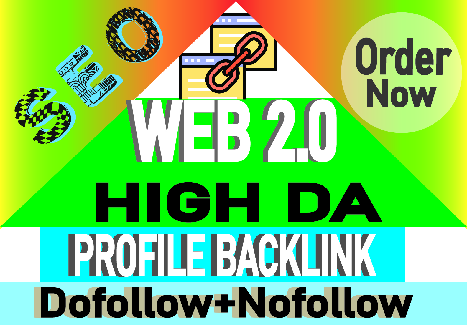 I will create over 100 web 2.0 profile backlinks manually