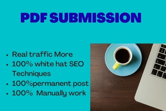30 Best PDF submission Do follow Backlinks Service