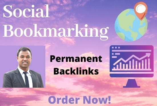 I will do 50 Social Bookmarking Backlinks