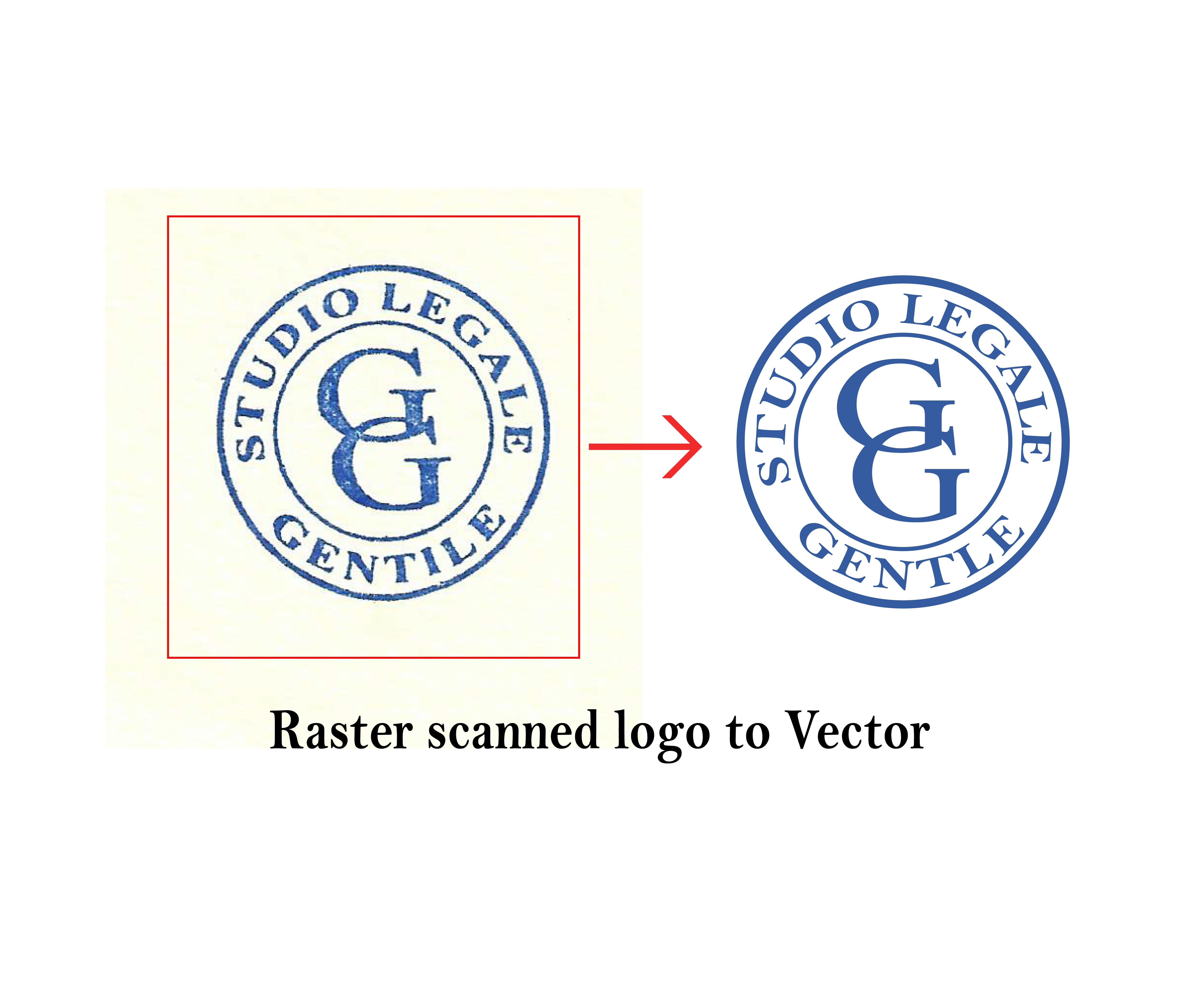 I will Vectorize your logo,  convert jpeg into Vector,  image trace
