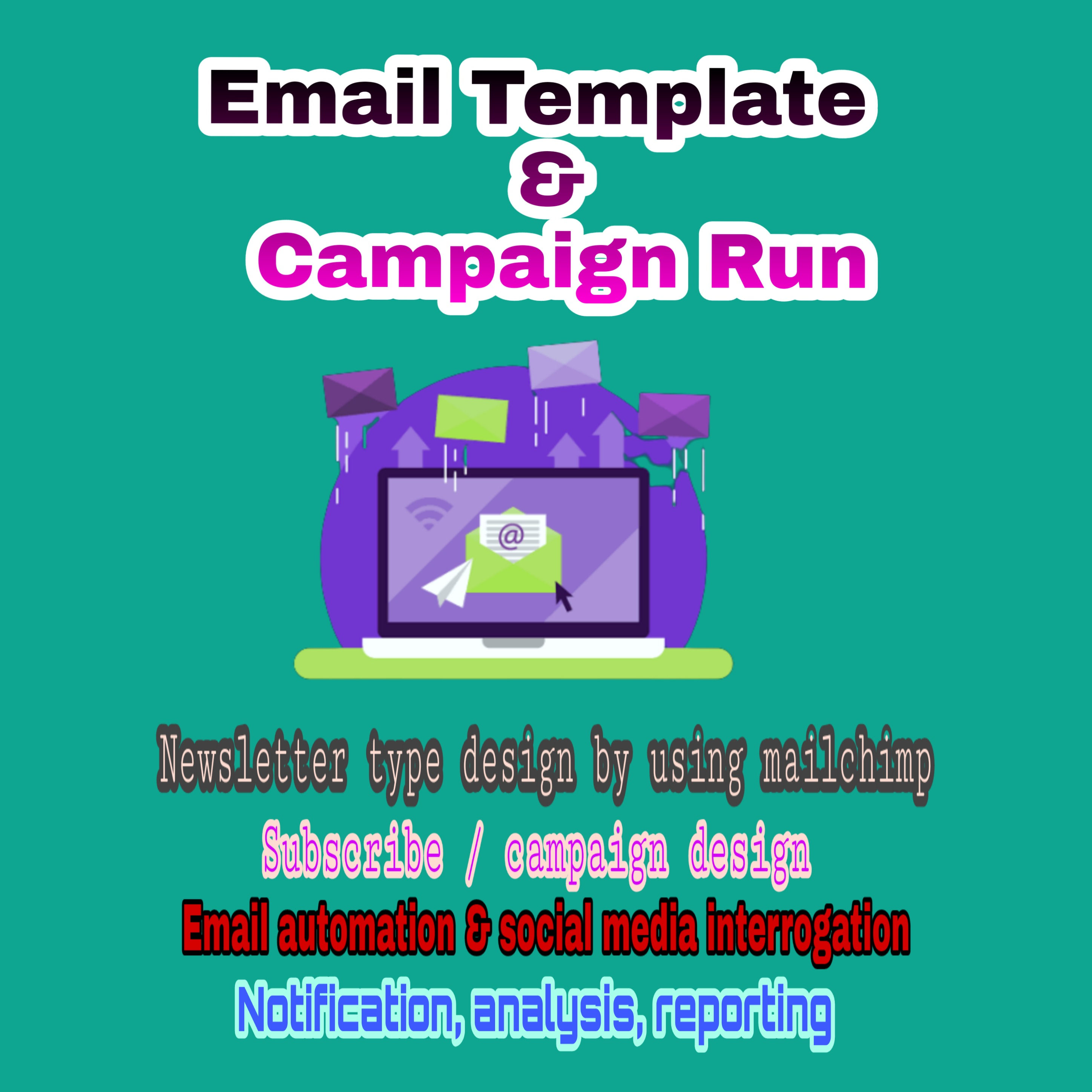 I can create mailchimp email template