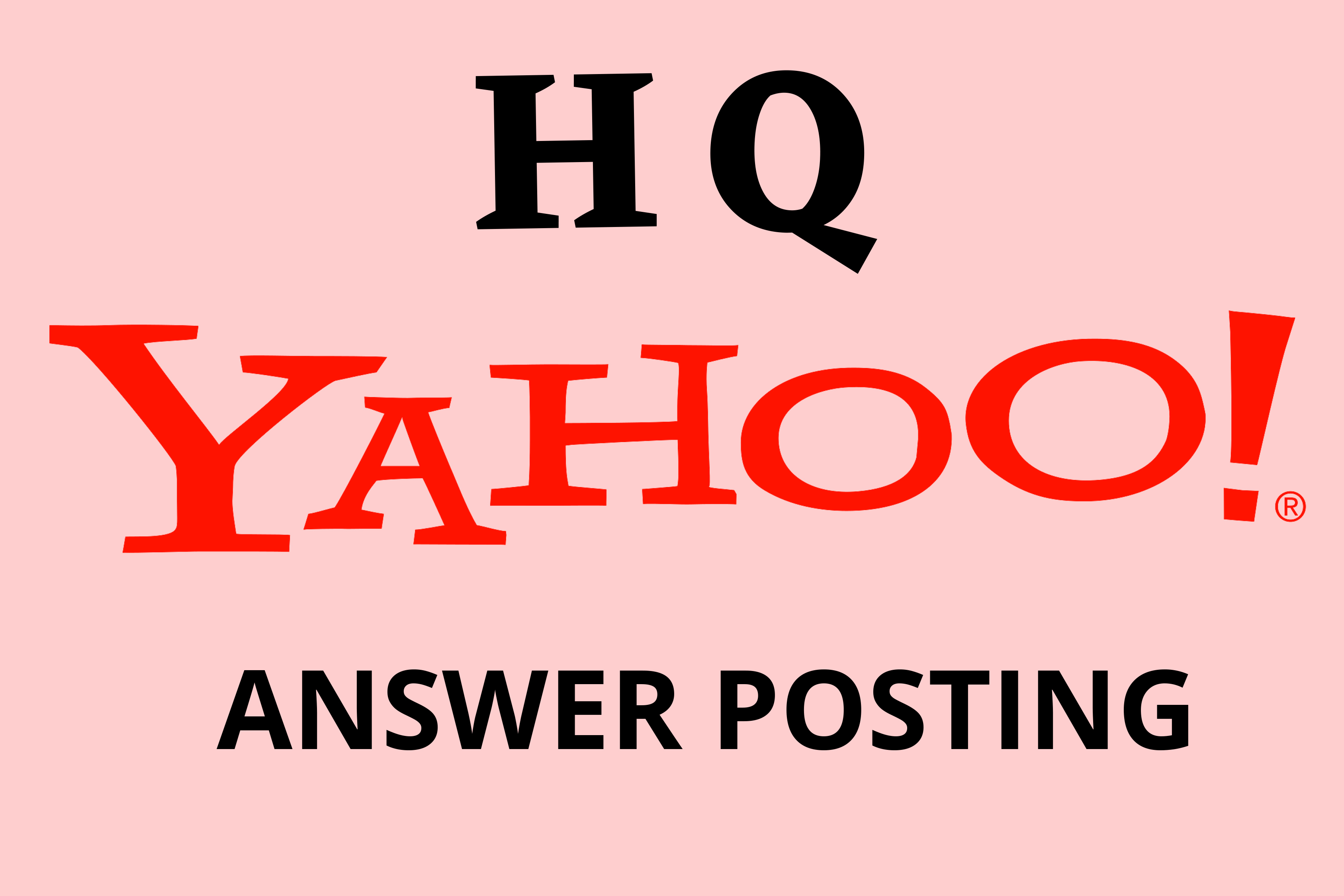 Promote your website With 40 Unique Yahoo Answers For your Targeted Traffic