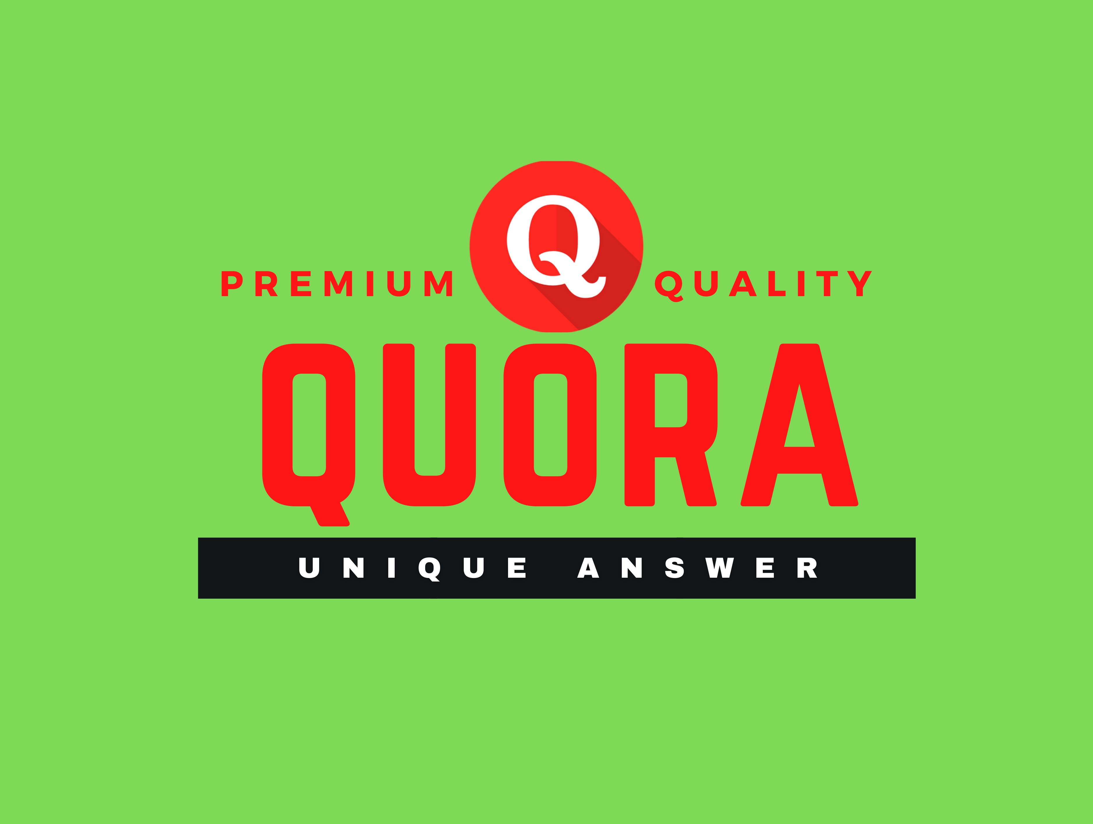 I will promote your website 10 high quality Quora answer with your Keyword & URL