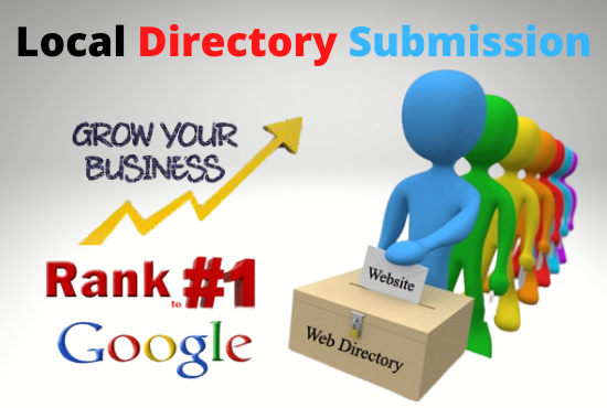 I will Do 60 Local Directory Submission for Any Country Base.