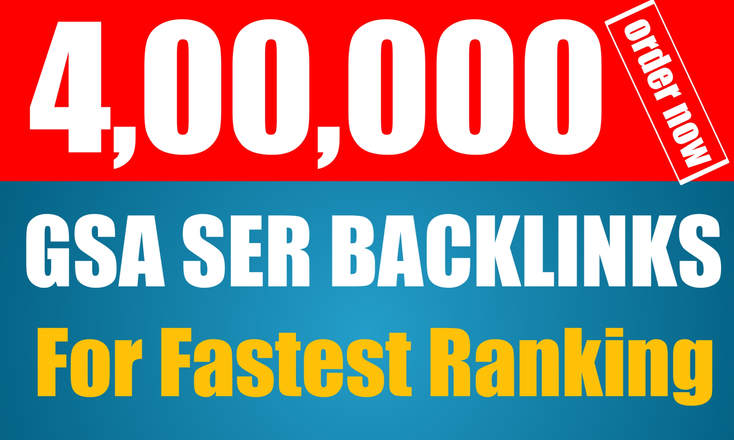 400k Super Quality GSA SER Backlinks For Your Website