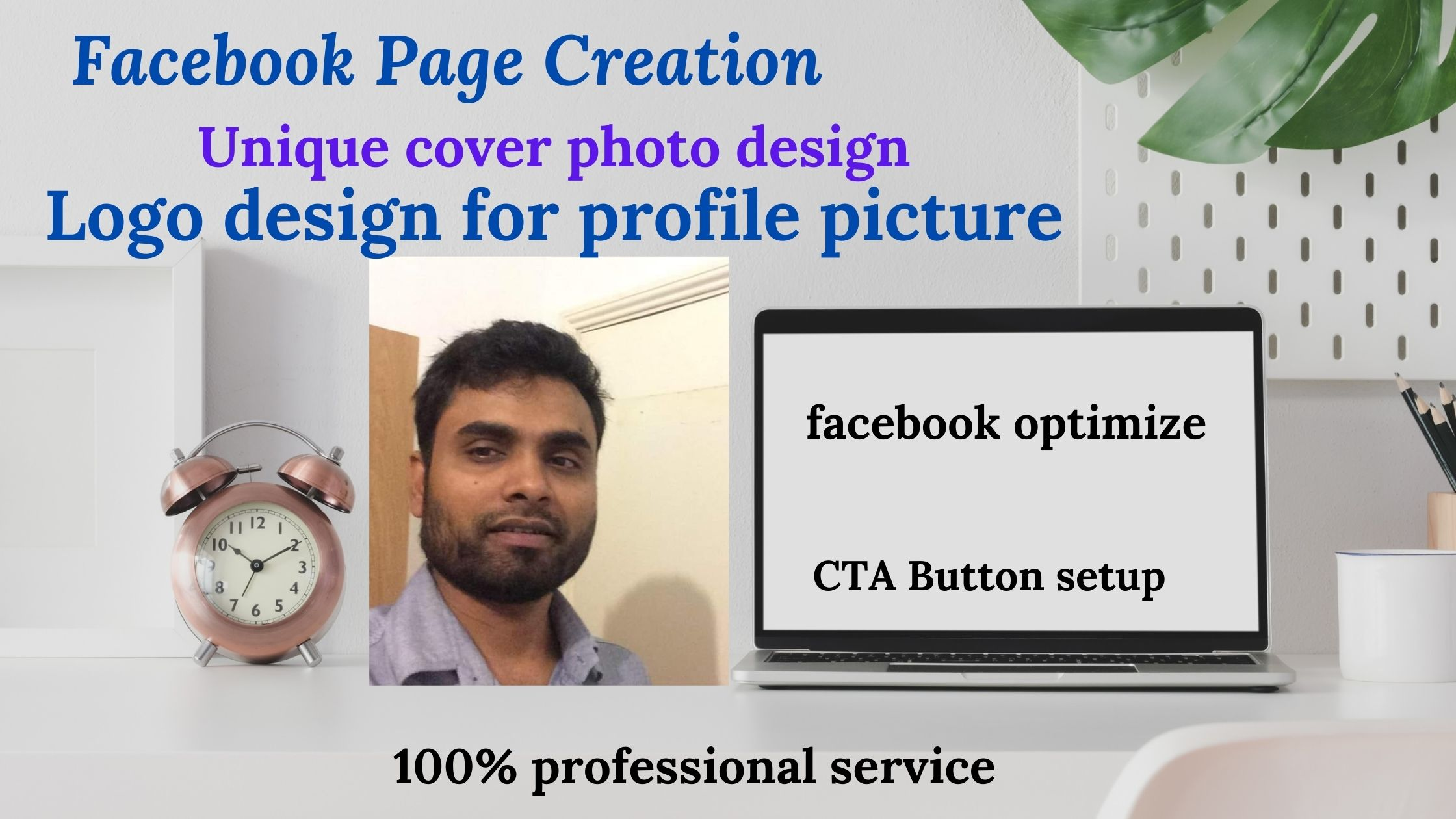 I will Provide a facebook business page & facebook optimize