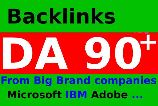 I will seo backlinks high authority da 90 pr 9 pa 70
