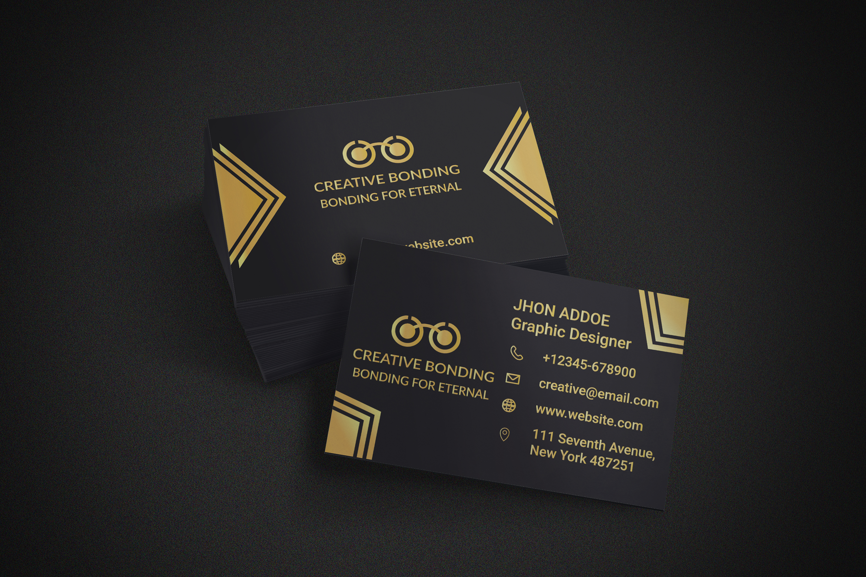 I will design stylish and creative business card for you