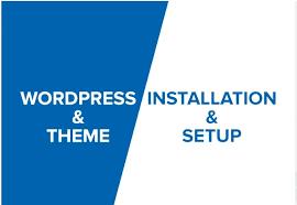 install wp,  setup wordpress theme and demo import