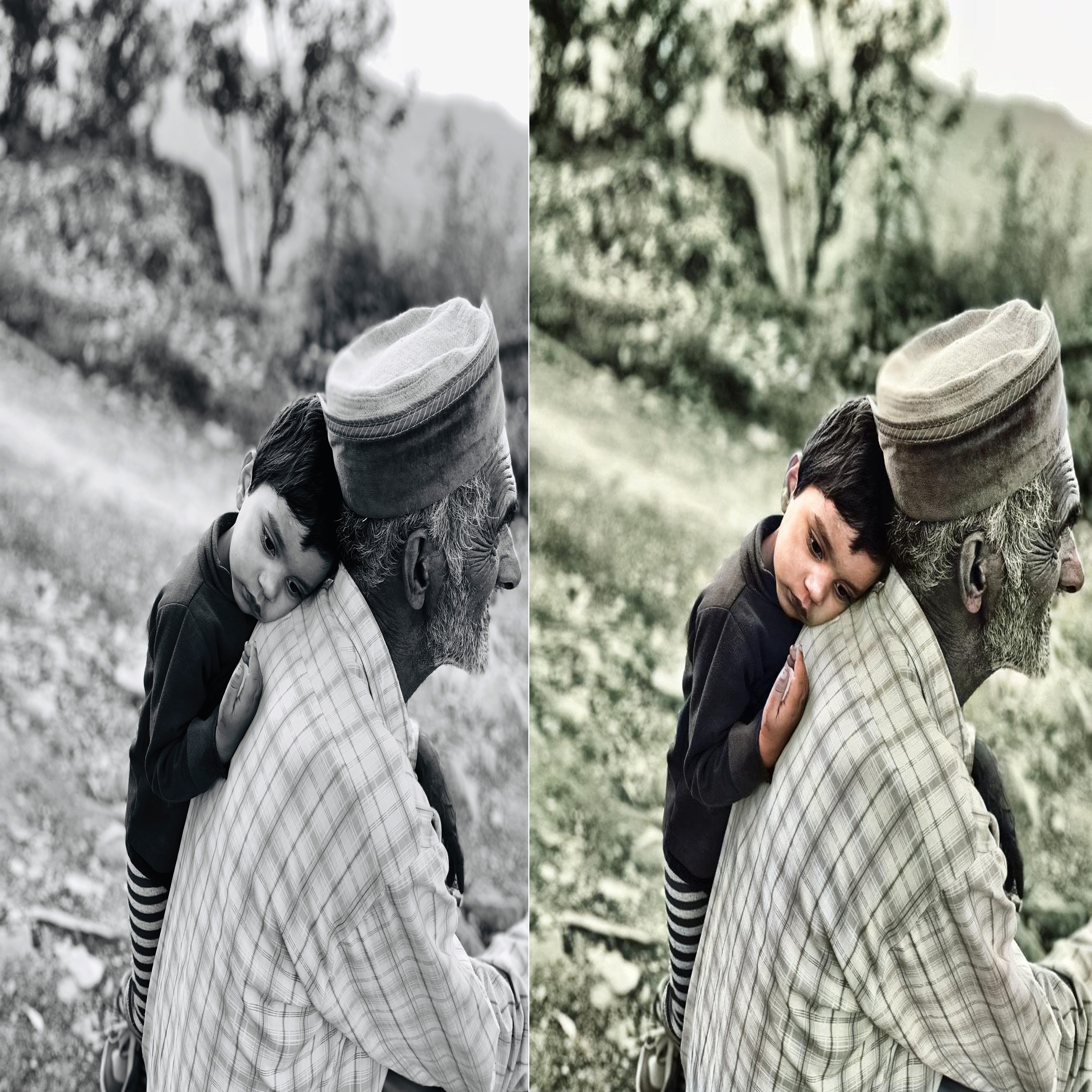 colorize a black and white 10 photo