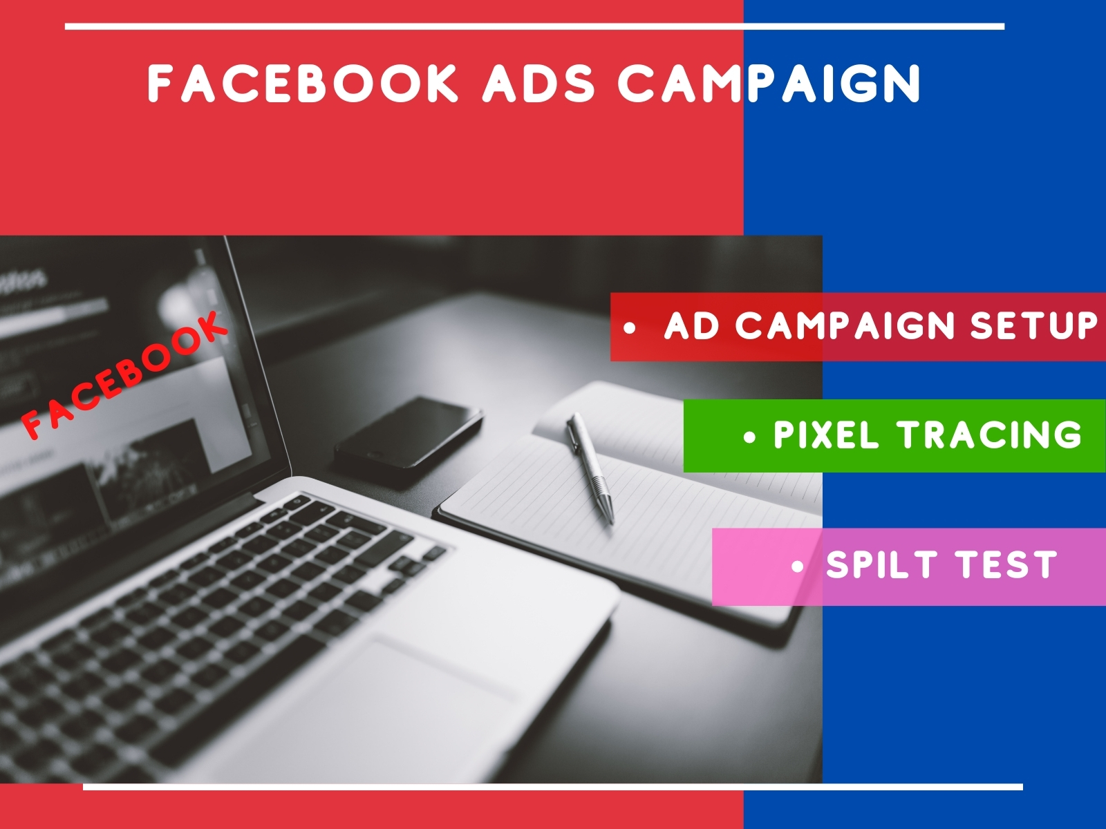 I will create and mange Profitable Facebook ads campaign For your business