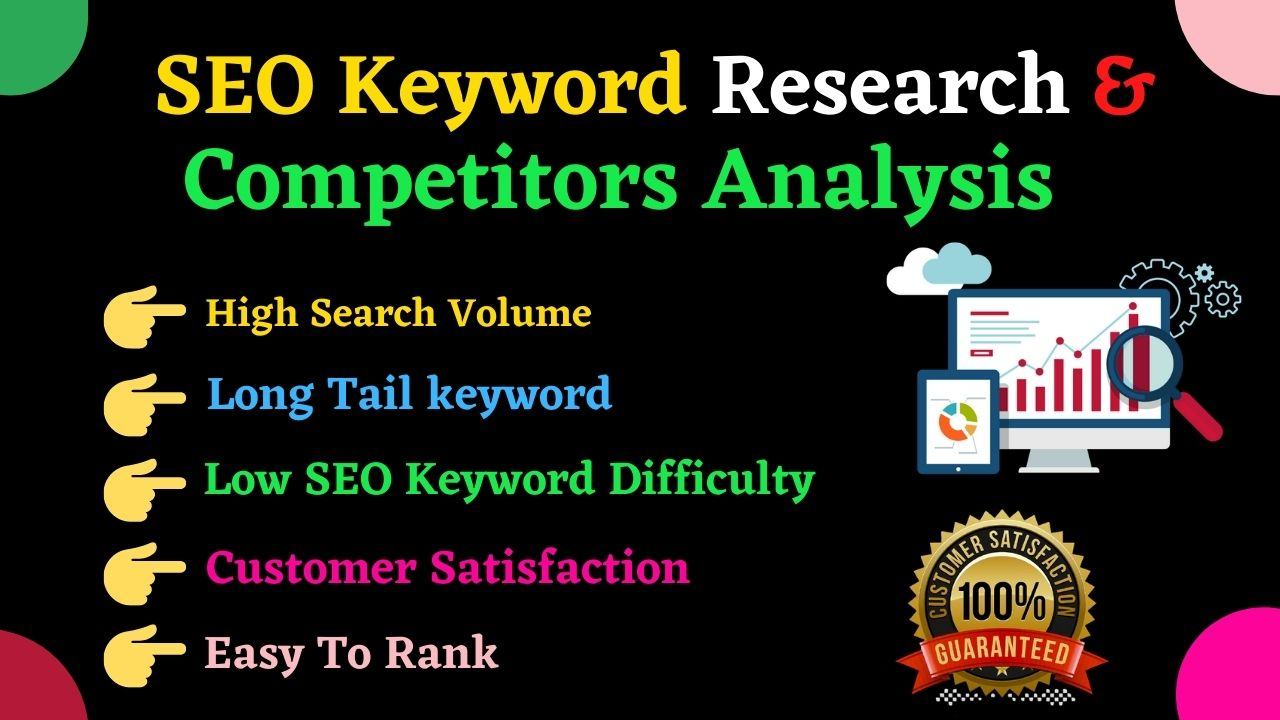 I will do Best Profitable SEO keyword Research and Competitor Analysis