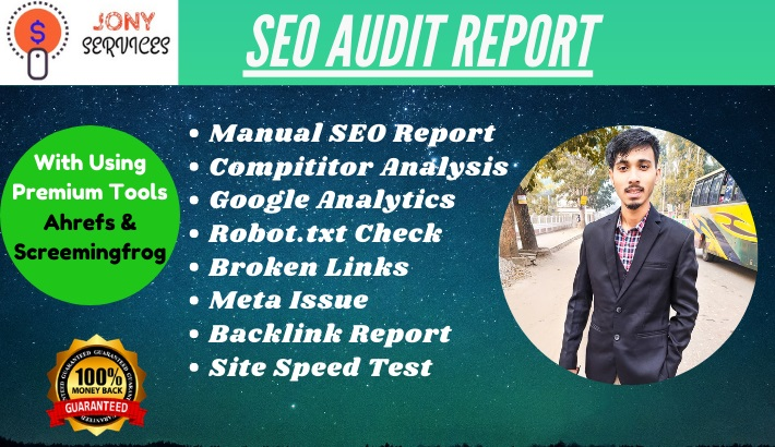 I will provide expert SEO report,  competitor website audit,  analysis and action