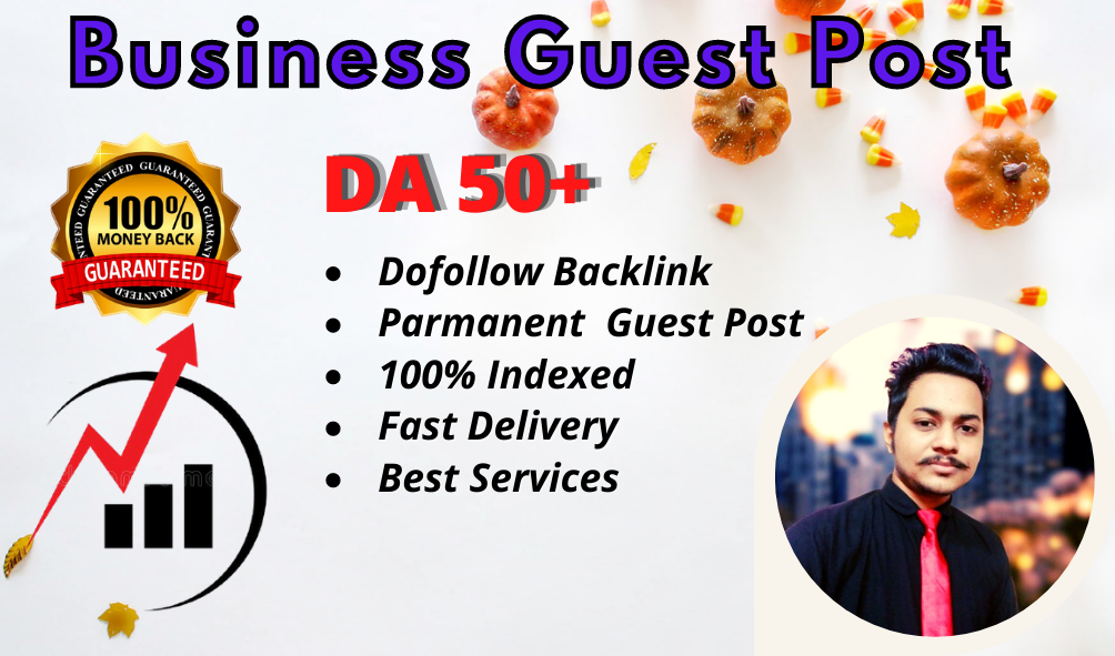 I Will Publish a Business Guest post on DA 50 Plus Business website