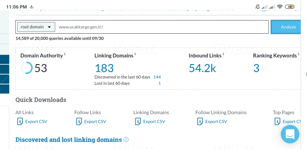 I will increase domain authority of your site da 40 plus in 25 days