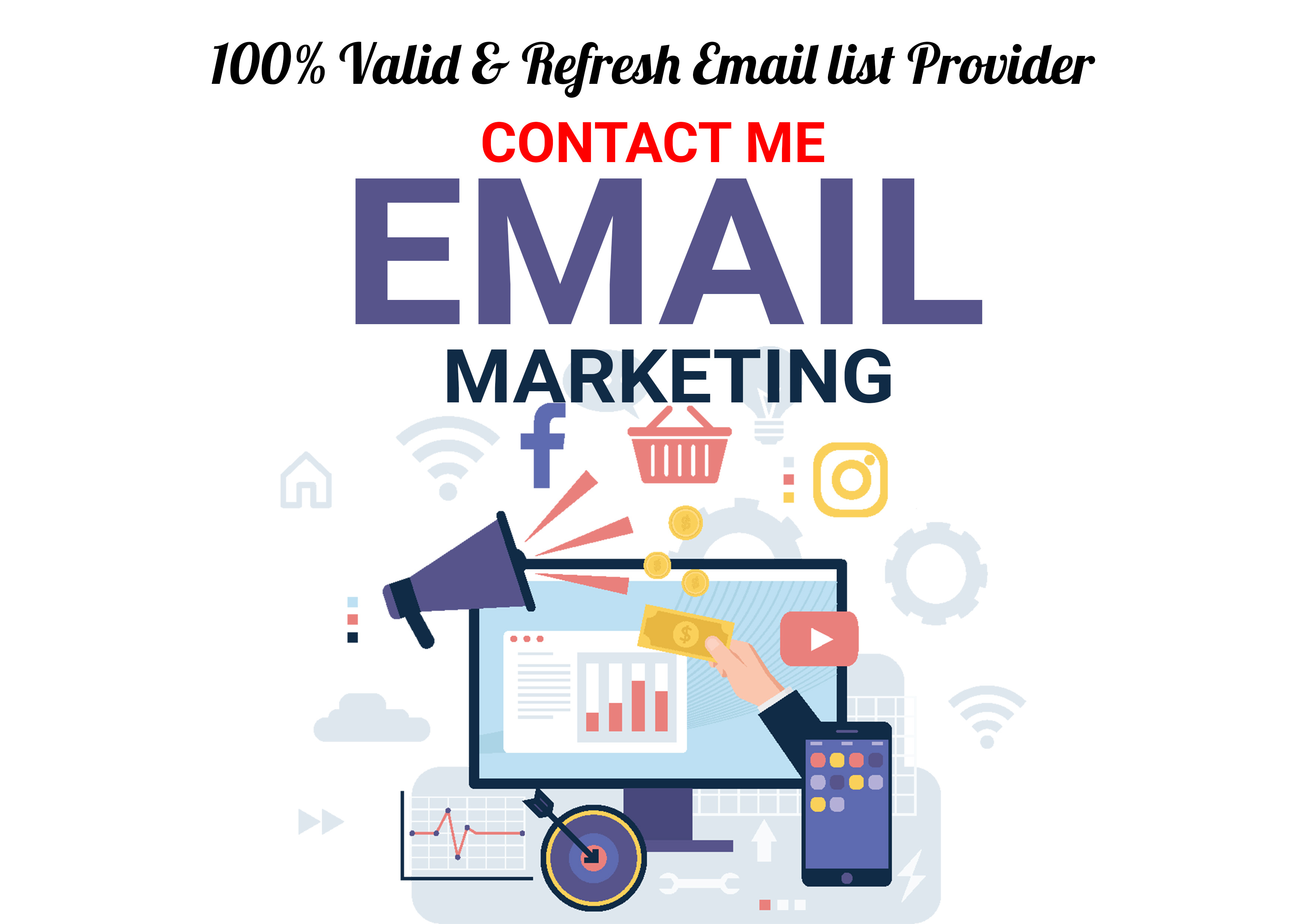 I will collect niche targeted verified email of any country at low cost