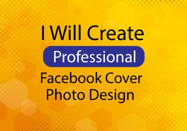 Design a Facebook or social media cover photo