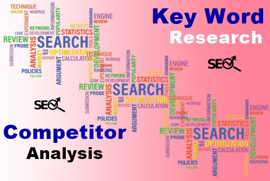 I will do 500+ productive keyword research and 10 Competitor analysis