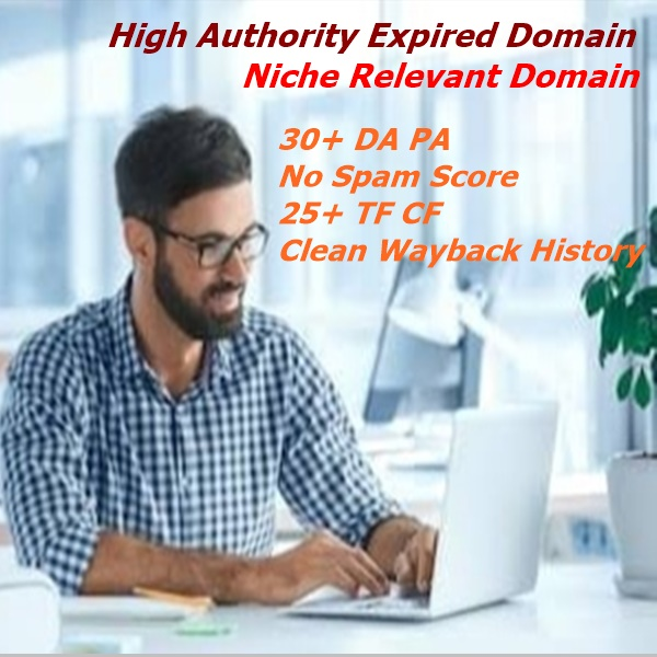 I will Provide 3 Niche relevant expired domain