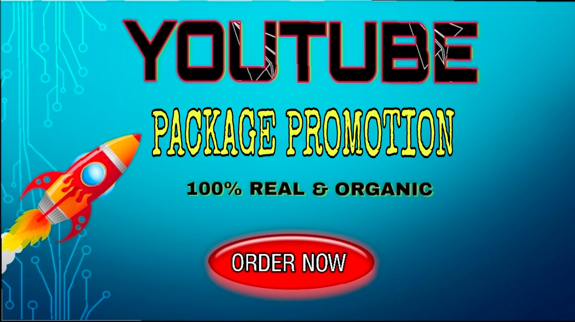 Best YT video package promo-tion for you only for 5