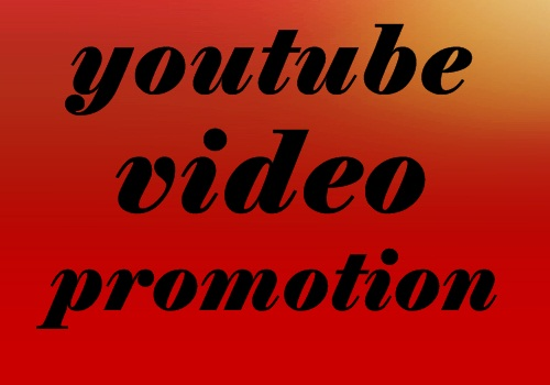 Real YouTube Video Promotion Marketing instant & Fast