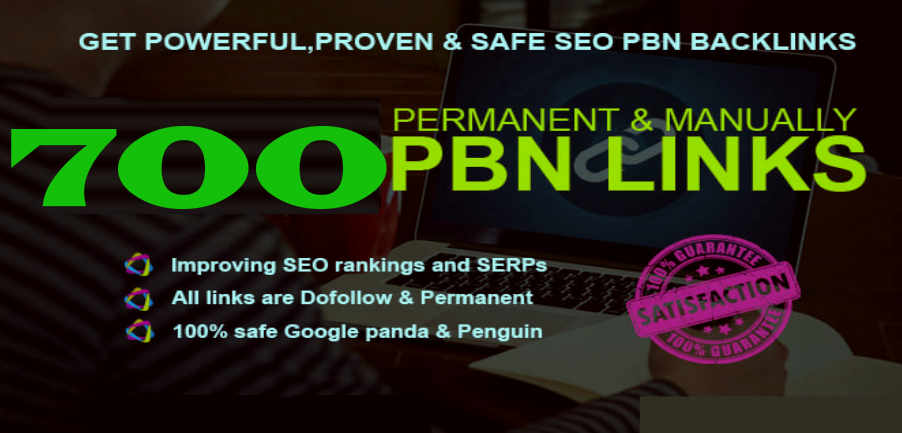 Get Extream 700+ PBN Backlink in your site hompage with HIGH DA/PA/TF/CF with special site