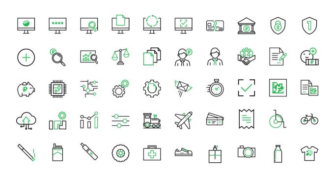 Design 5 Custom icon set within 6 hour