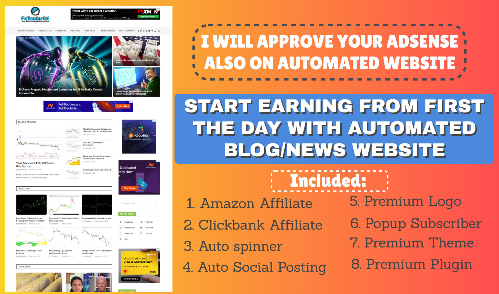 Fully Automatic News Website in WordPress Automatic Plugin