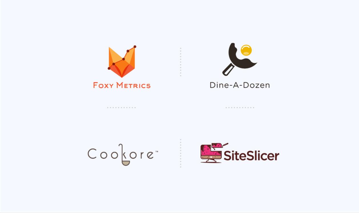 I will do flat minimalist logo design for you