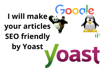 I will make your 10 articles SEO friendly by Yoast