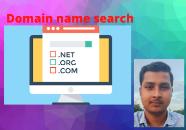 I will search non-used domain name for you