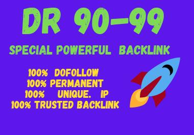 Publish high quality 20 dr backlink
