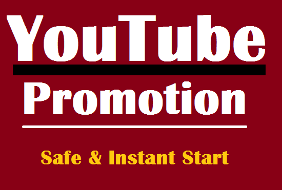 Do Amazing YouTube Promotion with Safe results and fast delivery
